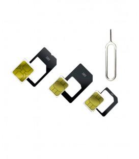 Nano/Micro SIM adapter 4v1