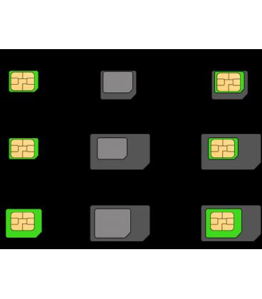Nano/Micro SIM adaptér 4v1