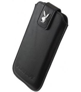 Kožené púzdro Playboy, veľkosť M iPhone 5/5s/SE/5c