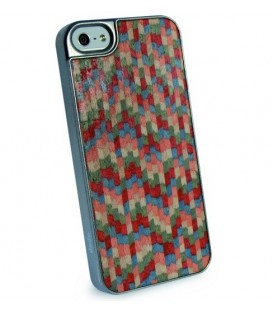 Dado Design Caleido Wood iPhone 5/5s/SE Harlequin