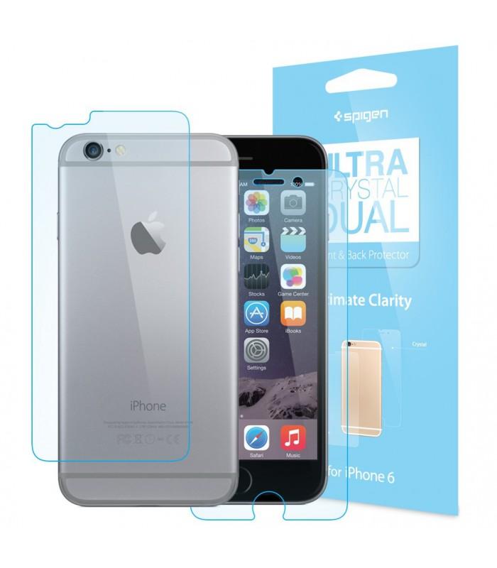 Spigen Screen Protector Crystal Dual iPhone 6 6s - MACLIFE - Apple ... 8a2db4815e4