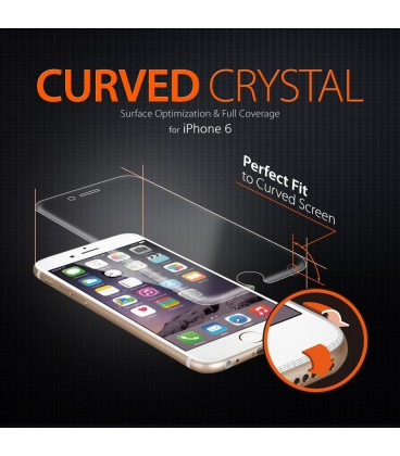 Spigen Steinheil Curved Crystal Clear iPhone 6
