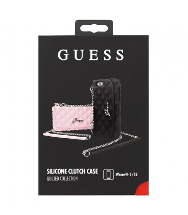Guess Quilted Clutch Silikon iPhone 5/5s
