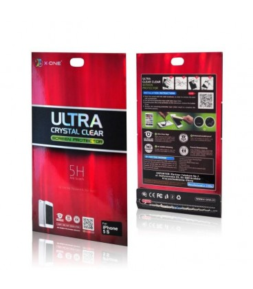 X-One 5H Ultra Crystal Clear iPhone 5/5s 2pcs