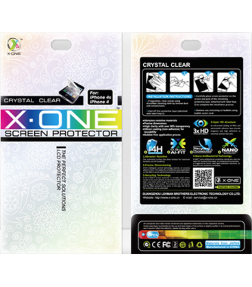 X-One 5H Ultra Crystal Clear iPhone 4/4S