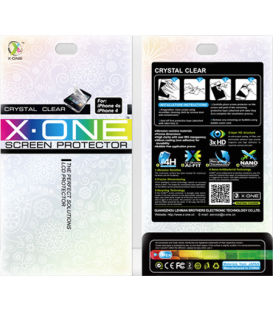 X-One Crystal Clear iPhone 4/4S 2pcs
