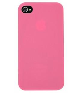 Zadný kryt Rubber Pink iPhone 5/5s/SE