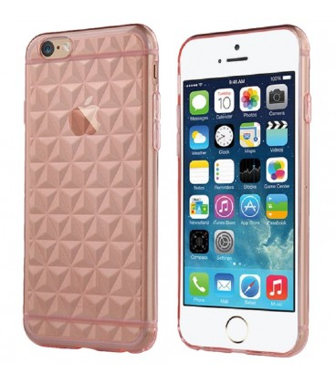 USAMS TPU Gelin Diamond Transparent Pink iPhone 6 Plus