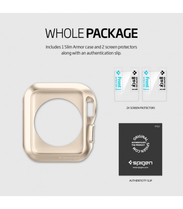 Spigen Slim Armor Apple Watch 38 mm