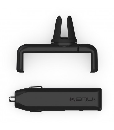 Kenu Airframe+ Portable Car Mount Leather Edition