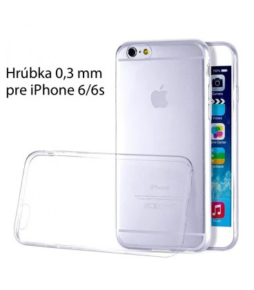 Ultratenký TPU obal na iPhone 6/6s