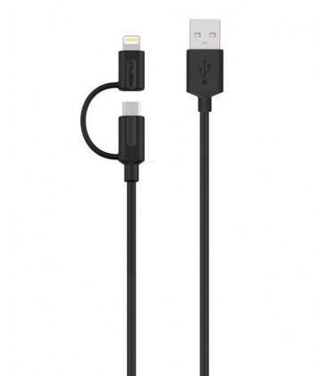 Kenu Tripline lightning micro-usb cable 1m