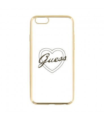 Guess Signature TPU Heart iPhone 6/6s