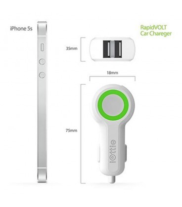 iOttie RapidVOLT Dual Port USB Car Charger