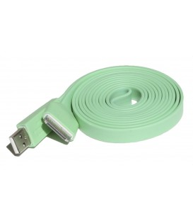 Apple plochý USB kábel s 30-pinovým konektorom (2 m)