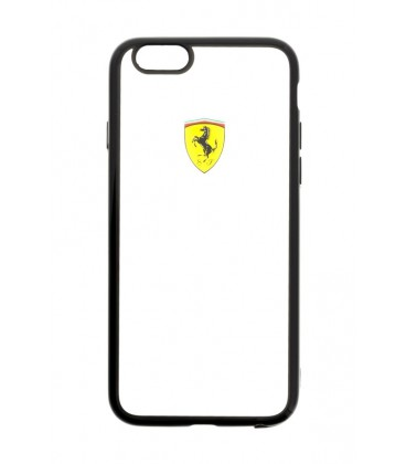 Ferrari Racing TPU Transparent iPhone 6/6s