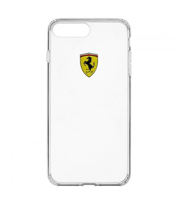 Ferrari Racing TPU Transparent iPhone 7+