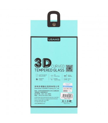 USAMS Tempered Glass 3D Curved iPhone 6/6s/7