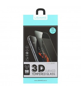 USAMS Tempered Glass 3D Curved iPhone 7/8