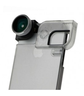 OlloClip Quick-Flip Clear Case iPhone 5/5s/SE