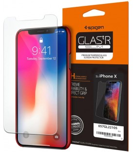 Spigen Screen Protector GLAS.tR SLIM iPhone X