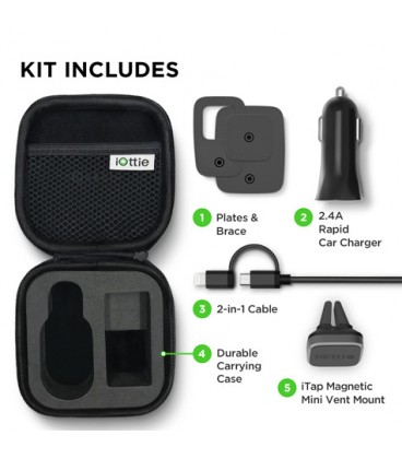 iOttie iTap Magnetic Mini and Charging Travel Kit