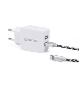 Odzu Wall Charger with MFi Lightning Cable