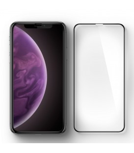 Spigen Glass FC HD black iPhone XS Max