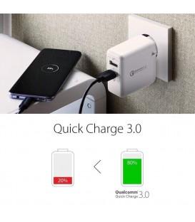 Spigen Essential F207 QC 3.0 wall charger