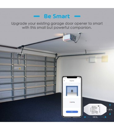 Meross Smart Wi-Fi Garage Door Opener
