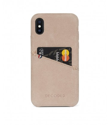 Decoded Leather Case iPhone XS/X