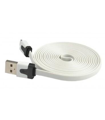 Lightning to USB plochý kábel (2 m)