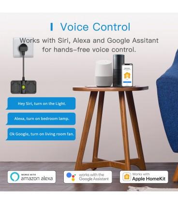 Meross Smart Plug Wi-Fi without energy monitor Apple HK