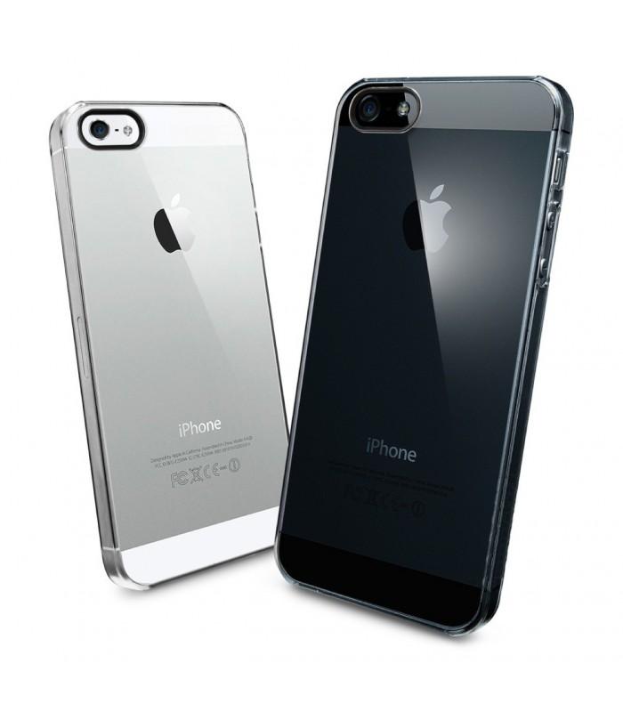 Ultratenký priesvitný obal na iPhone 5 5s SE (clear) - MACLIFE ... a0997f245b7