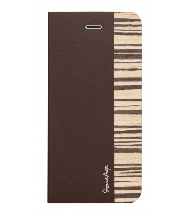 Stone Age Wood Skin Folio for iPhone 6